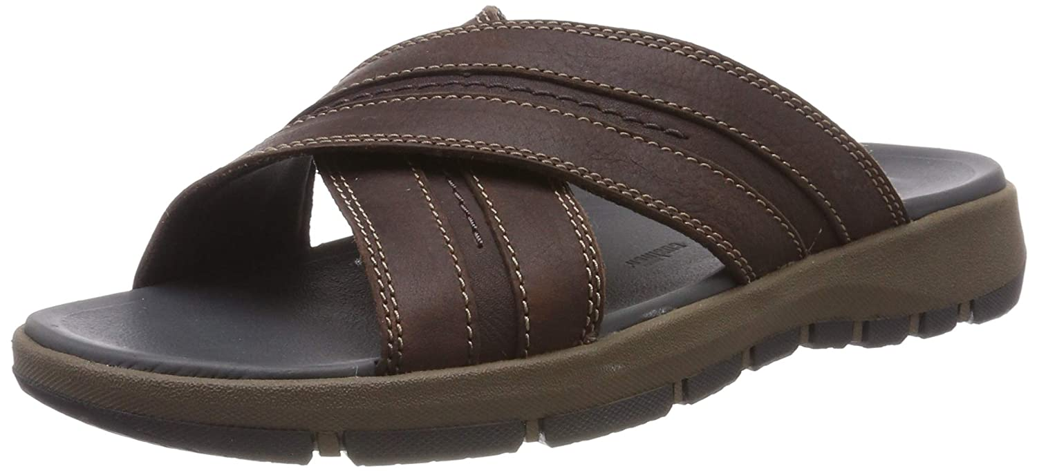 2fefbac0e76b Clarks Men s Brixby Cross Ankle Strap Sandals  Amazon.co.uk  Shoes   Bags