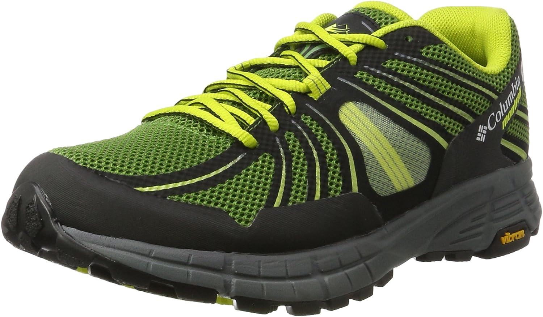 Columbia Mojave Trail Outdry, Zapatillas de Running para Asfalto para Hombre, Verde (Dark Backcountry/Zour), 40.5 EU: Amazon.es: Zapatos y complementos