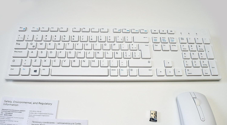Amazon.com: New 5T11R Wireless BRANCO Keyboard WK636/p Mouse MWM116p Receiver DGRFEO Combo WHITE Combinação de teclado sem fio externo ARGENTINA CARIBBEAN ...