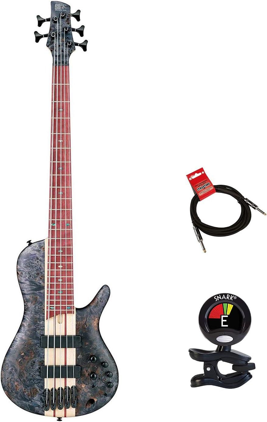 Ibanez srsc805dtf graves taller bajo de 5 cuerdas guitarra paquete ...