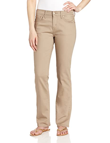 Amazon.com: Levi s 505 Pierna Recta de la mujer Pant: Clothing