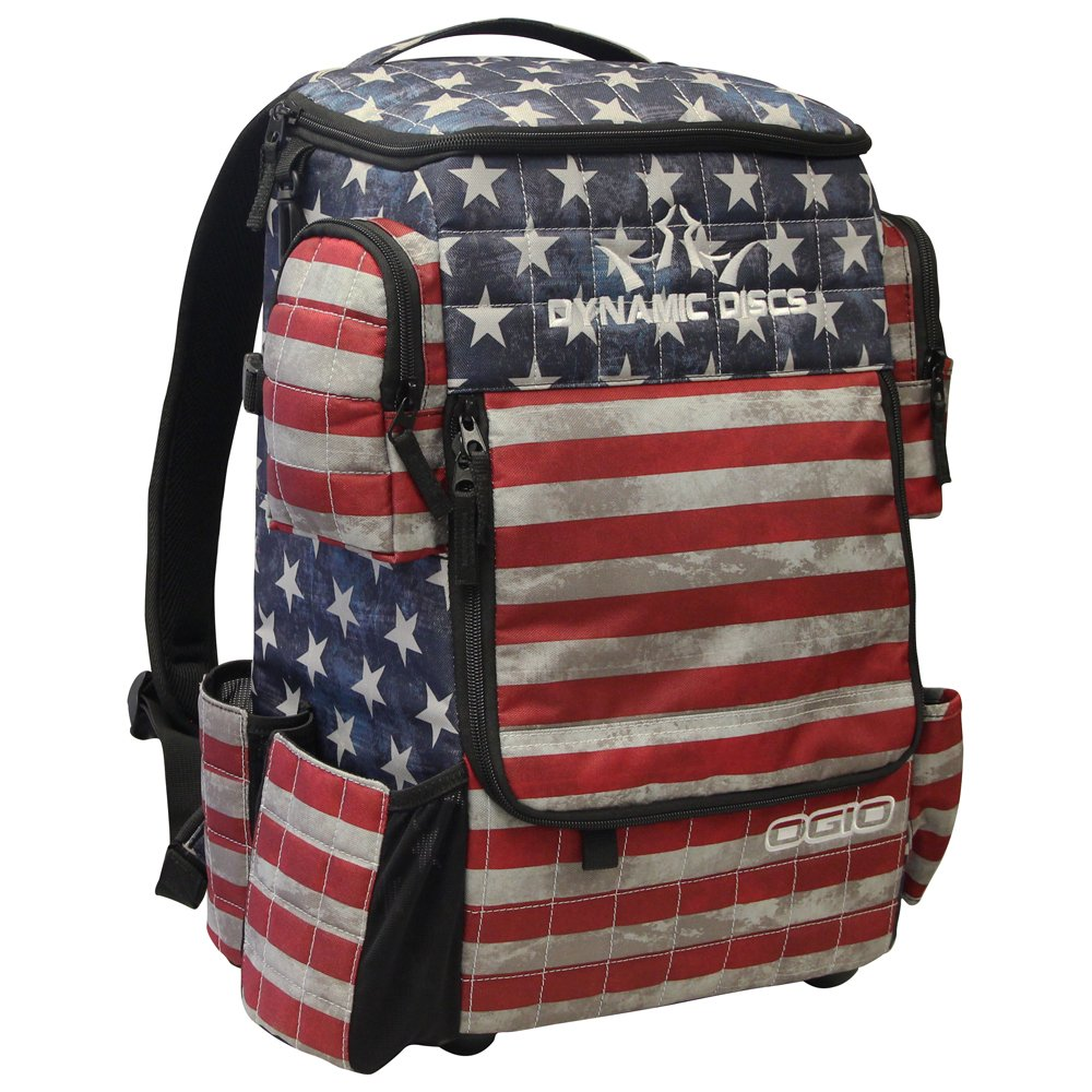 Dynamic Discs Ranger Backpack Disc Golf Bag (Stars and Stripes) by D·D DYNAMIC DISCS