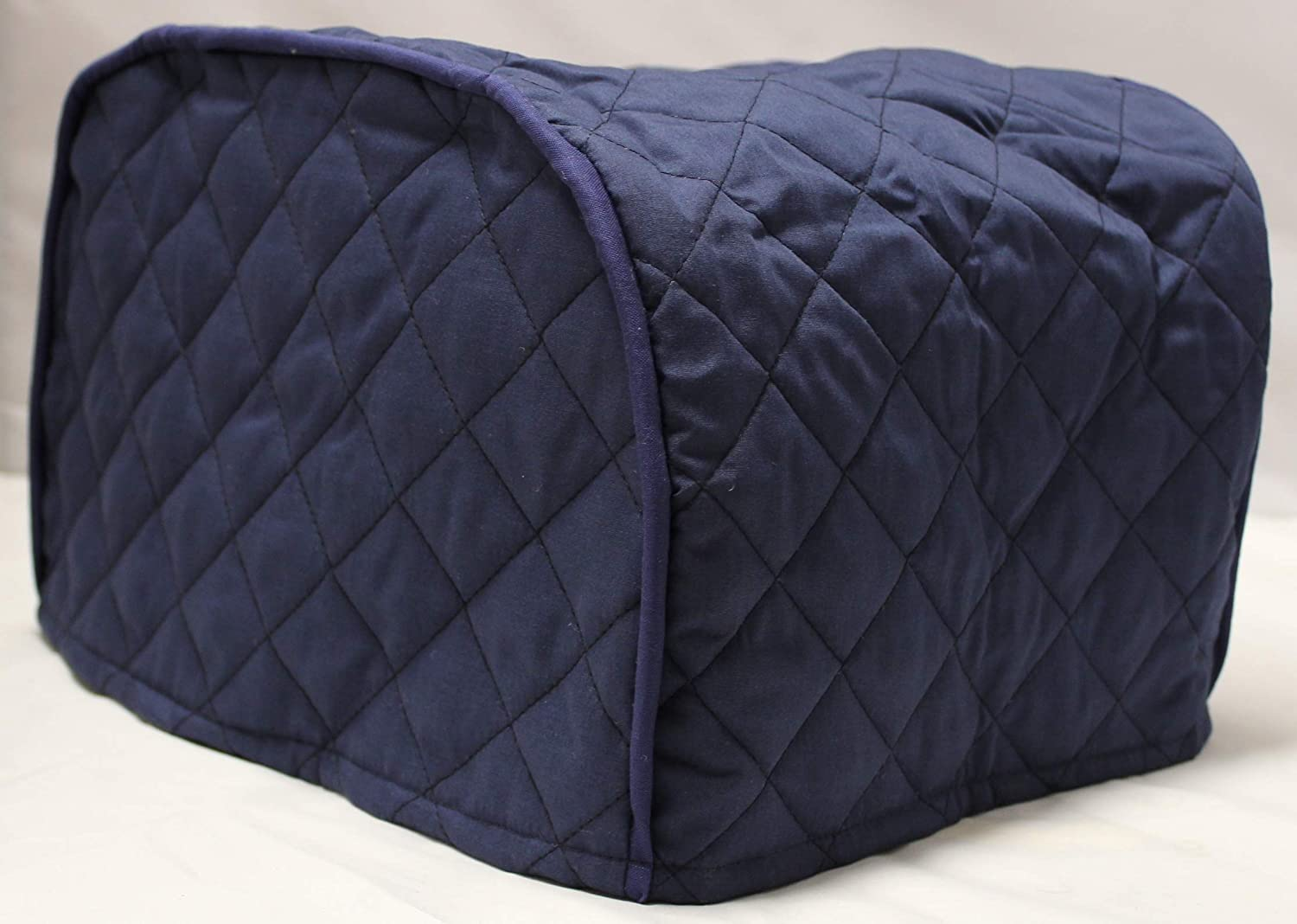Simple Home Inspirations Solid Quilted Cover Compatible with the Ninja Foodi Grill (Navy)