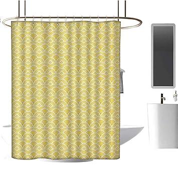 Amazon.com: Forro de cortina de ducha, abstracto, patrón de ...