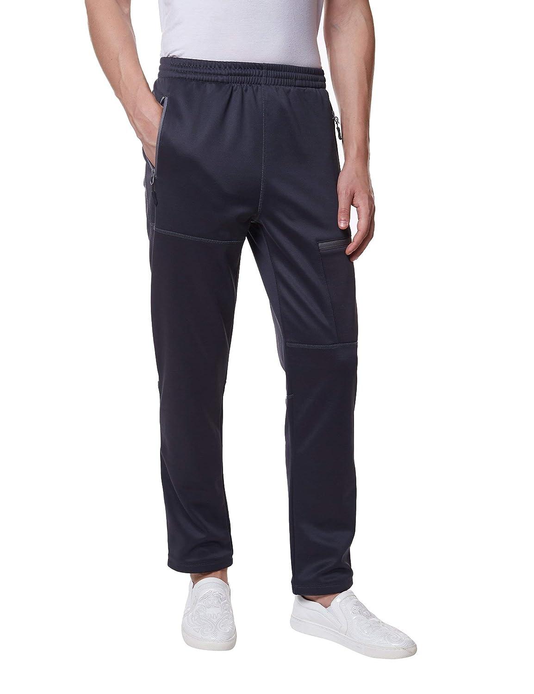 fc1952da28f9e Amazon.com  Little Donkey Andy Men s Open-Bottom Fleece Sweatpants ...