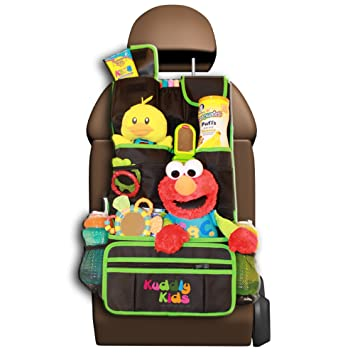 kuddly kids backseat car organizer for kids the ultimate travel accessories for baby kids toy