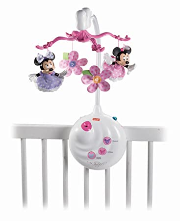 Fisher-Price Disney Baby Minnie Mouse Projection Mobile ...
