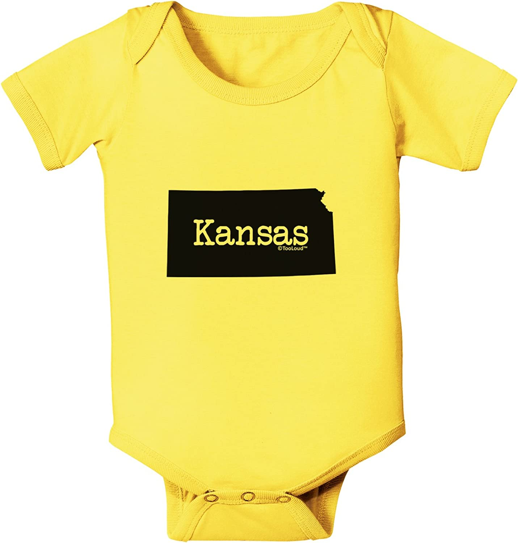 United States Shape Baby Romper Bodysuit TooLoud Kentucky