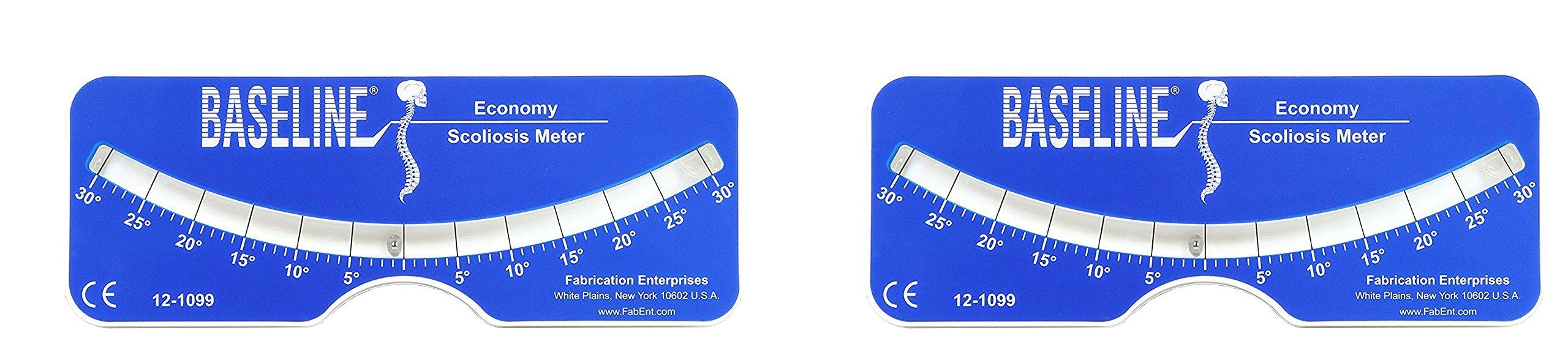 Baseline 12-1099 Scoliosis Meter, Plastic Economy (2 pack)
