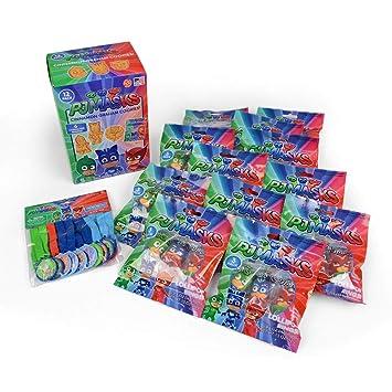 PJ Masks Galletas, caramelos y juguetes fiesta de cumpleaños ...