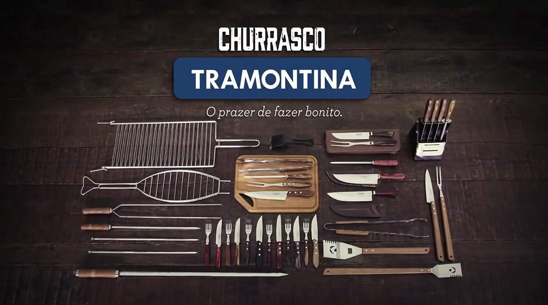 Tramontina Dessertgabel Set 21105 490 Vorspeisengabel 12 St/ück Griff braun
