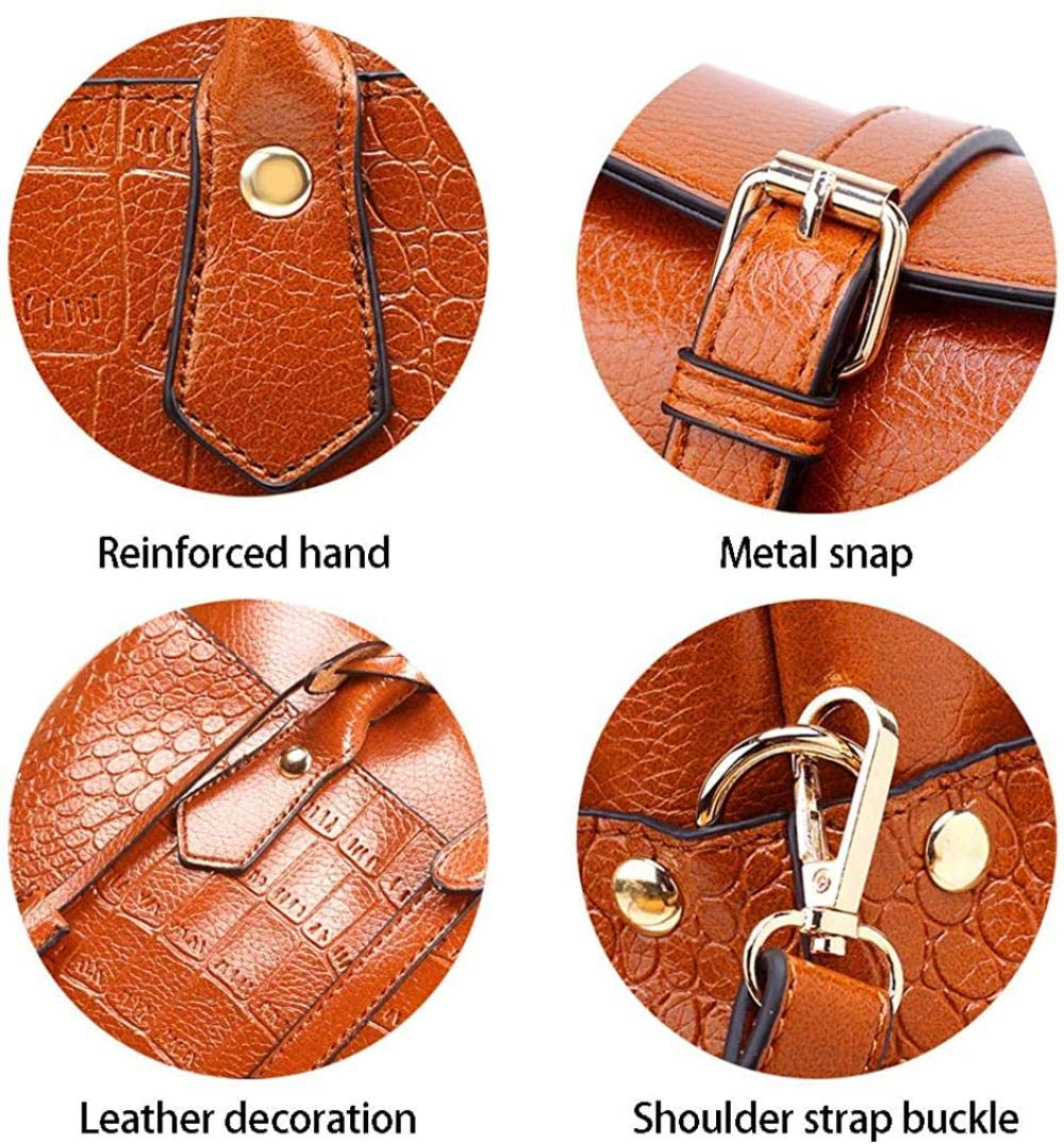 Regn topp handtag väska präglad krokodil mönster läder handväska tygväska axelväska handväska affärsväska, grön gRÖN