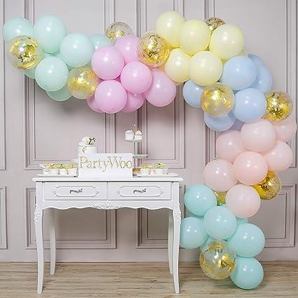 "5/"" Wedding Latex Balloons Macaron Pastel Rainbow Birthday Party Ballons 10Pcs F"