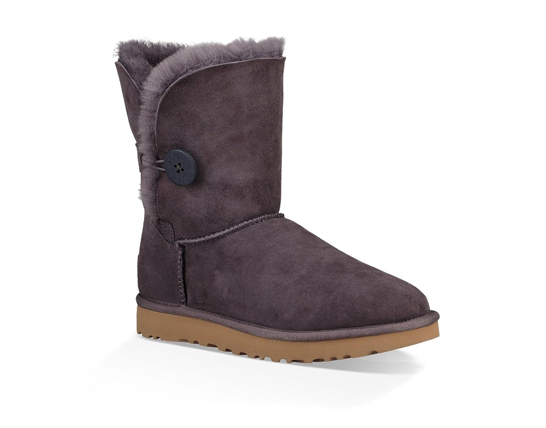 a27ef1f04d4 UGG Womens Bailey Button II Shearling Boot Nightfall Size 5: Amazon ...