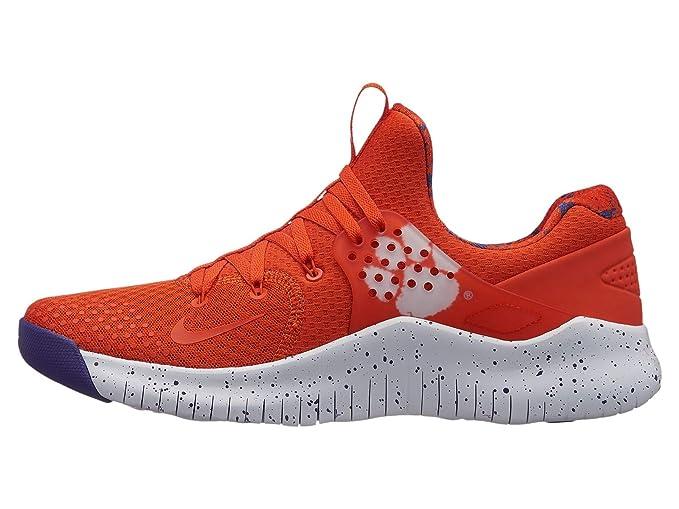d5b0efc259d3b Amazon.com  Nike Men s Free TR 8 Clemson Training Shoes (University Orange