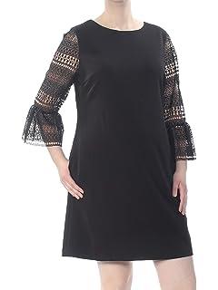 Suzi Chin Womens Plus Sleeveless Stretch Satin Dress with Ruching