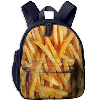 7c7edee0e8ae 60%OFF Kid's French Fries Backpack 3D Printing Schoolbag - indotiger.com