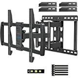 MOUNTUP Full Motion TV Wall Mount Swivel Tilt for 42-70 Inch Flat Screen/Curved TVs, TV Mount Bracket with Articulating arms,
