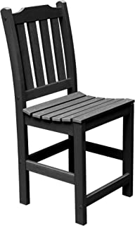 product image for highwood Lehigh Armless Counter Height Chair, Black, No Arms (AD-CHCL1-BKE)
