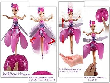 Flutterbye like flying flower fairy rechargeable flying barbie fairy flutterbye like flying flower fairy rechargeable flying barbie fairy toys electronic flying flower toy battery operated mightylinksfo