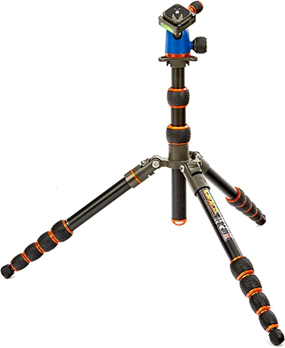 3 Legged Thing Punks Billy Carbon Fibre Tripod with Airhed Neo Blue