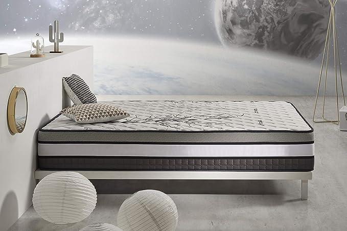 Colchón Solar - Viscoelástica VISCO V200 - Micropartículas de VISCO Gel - Tecnología HR Active Latex - Núcleo Blue Latex - 30 cm, 150x190cm: Amazon.es: ...