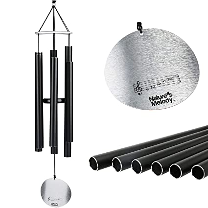 Amazon.com : Nature's Melody Wind Chimes, Great as Sympathy, Memorial, or Bereavement Gifts, Outdoor or Indoor, Men or Women, Beautiful Garden Decor, ...