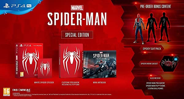 Marvel's Spider-Man: Special Edition - PlayStation 4