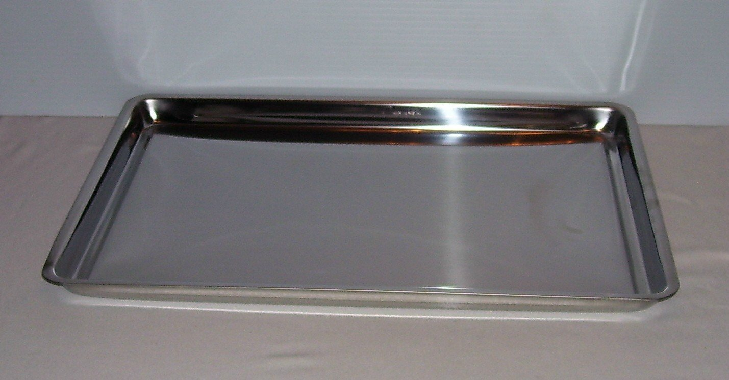 Jelly Roll Pan - Durable Stainless Steel - 16 x 11 Inch
