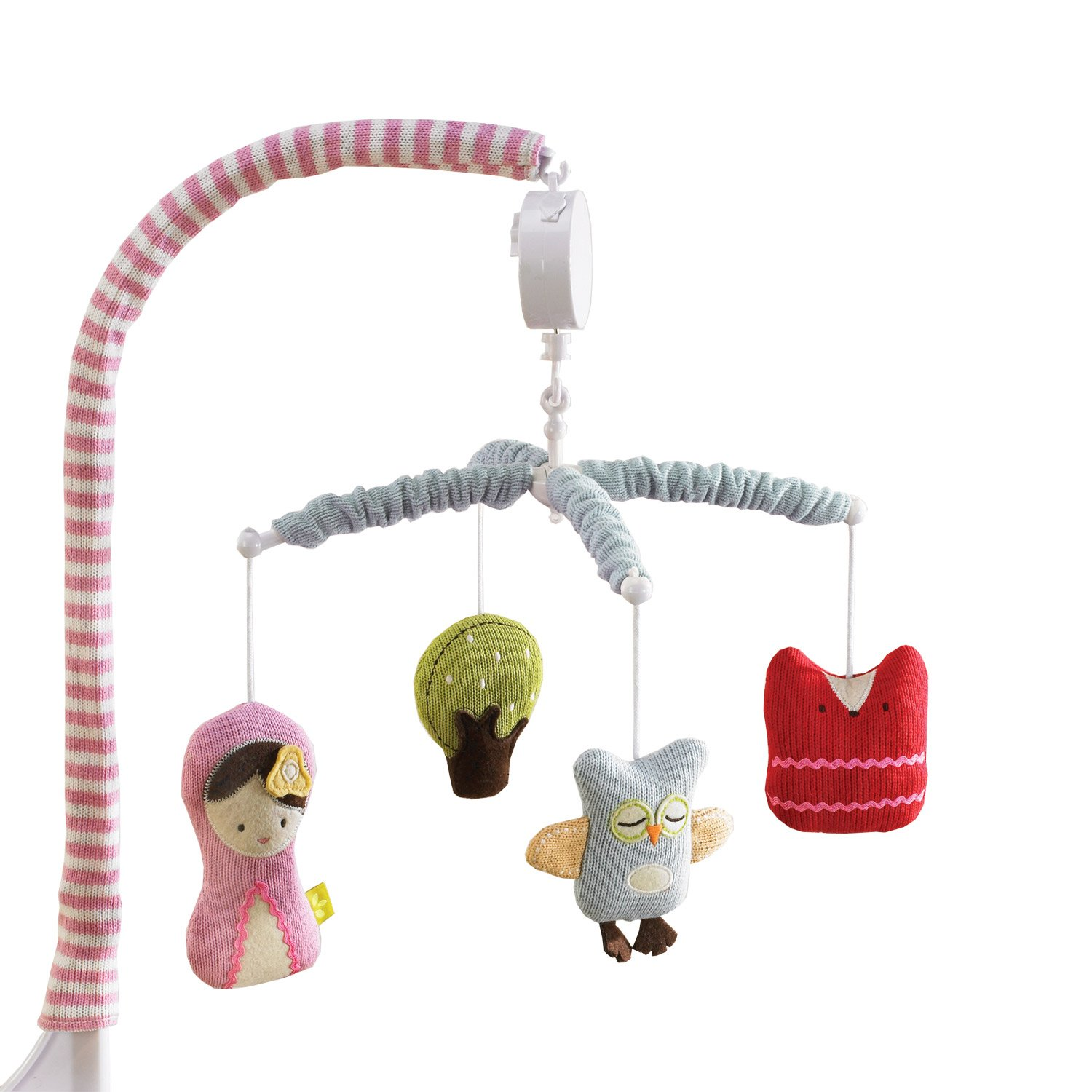 Good Amazon.com : Lolli Living Musical Mobile   Scarlet   Sturdy Design Is Easy  To Install On Babyu0027S Crib, Features Plush Animals And Wind Up Music Box  That ...
