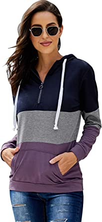 Pullover Loose Fit Zip