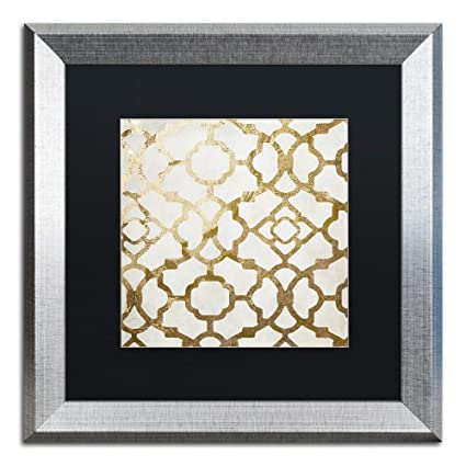 Amazoncom Moroccan Gold Ornate Frame Ii By Color Bakery Black