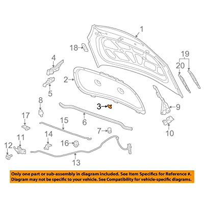 GM Retainer - Part# 94530503: Automotive