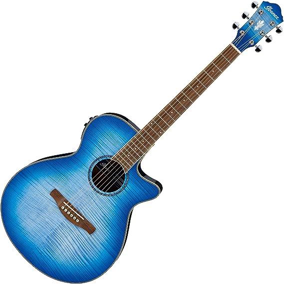 Ibanez AEG19II Acoustic-Electric Guitar (Ocean Blue Burst)