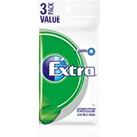 Extra Spearmint Sugar Free Chewing Gum, 3 x 14 Piece Pack (81g)