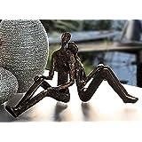 Casablanca Skulptur Dreaming - träumendes Paar bronze 74605