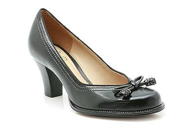 Cuir Clarks Pour Noir Lights Bombay Femme Chaussures I2HWED9