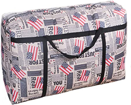 Foldable Large Duffel Bag Luggage Storage Waterproof Travel Pouch Oxford Bag US