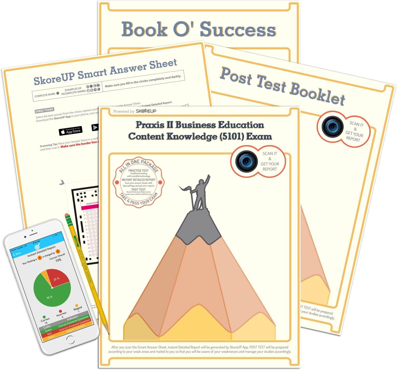 Praxis II Business Education Content Knowledge (5101) Exam, Study Guide:  SkoreUP LLC: 0614665510202: Amazon.com: Books