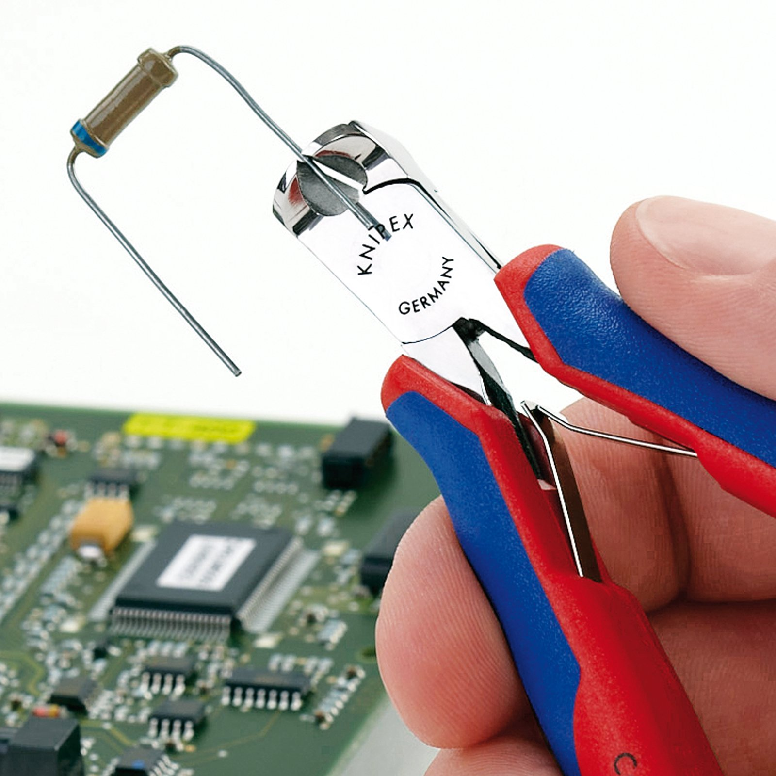 Knipex 64 02 115 Electronics End Cutting Nippers 4,53'' with soft handle by KNIPEX Tools (Image #4)