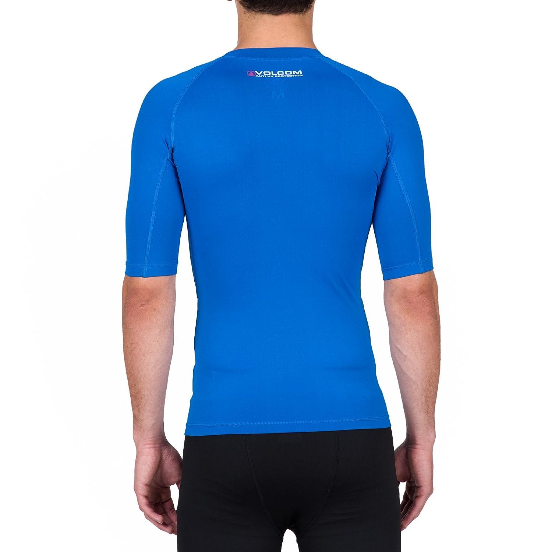 Volcom Mens Solid Short Sleeve Rashguard N0111600