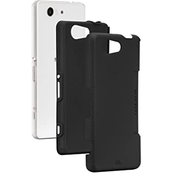 Case-Mate Tough Case - Carcasa para Sony Xperia Z3 Compact, color negro