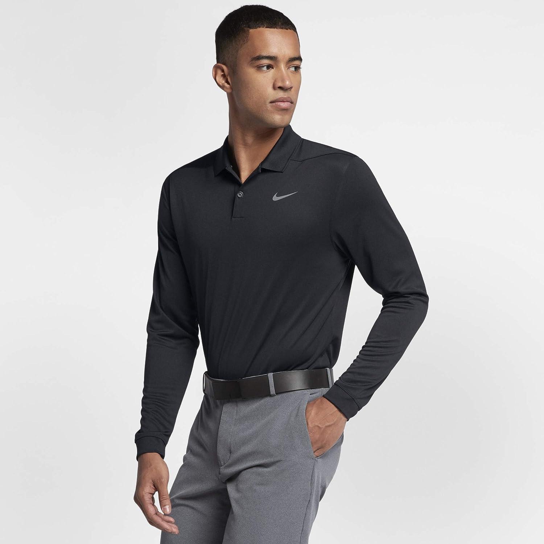 [ナイキ(Nike)] 2019春夏 ドライ ヴィクトリー ロングスリーブ ポロ メンズ 【MEN SPORTSWAER/トップ/長袖/T/ポロシャツ/ライフスタイル/ゴルフ/テニス 】 [並行輸入品] 【日本 サイズ L 胸囲100~105cm】  B07HLXHMFY