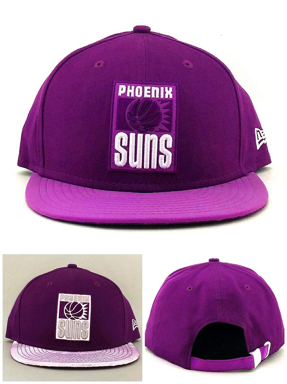 Phoenix Suns New Era 9 Fifty Illumique Reflective Grapeパープルストラップバック帽子キャップ   B00MR41OHA