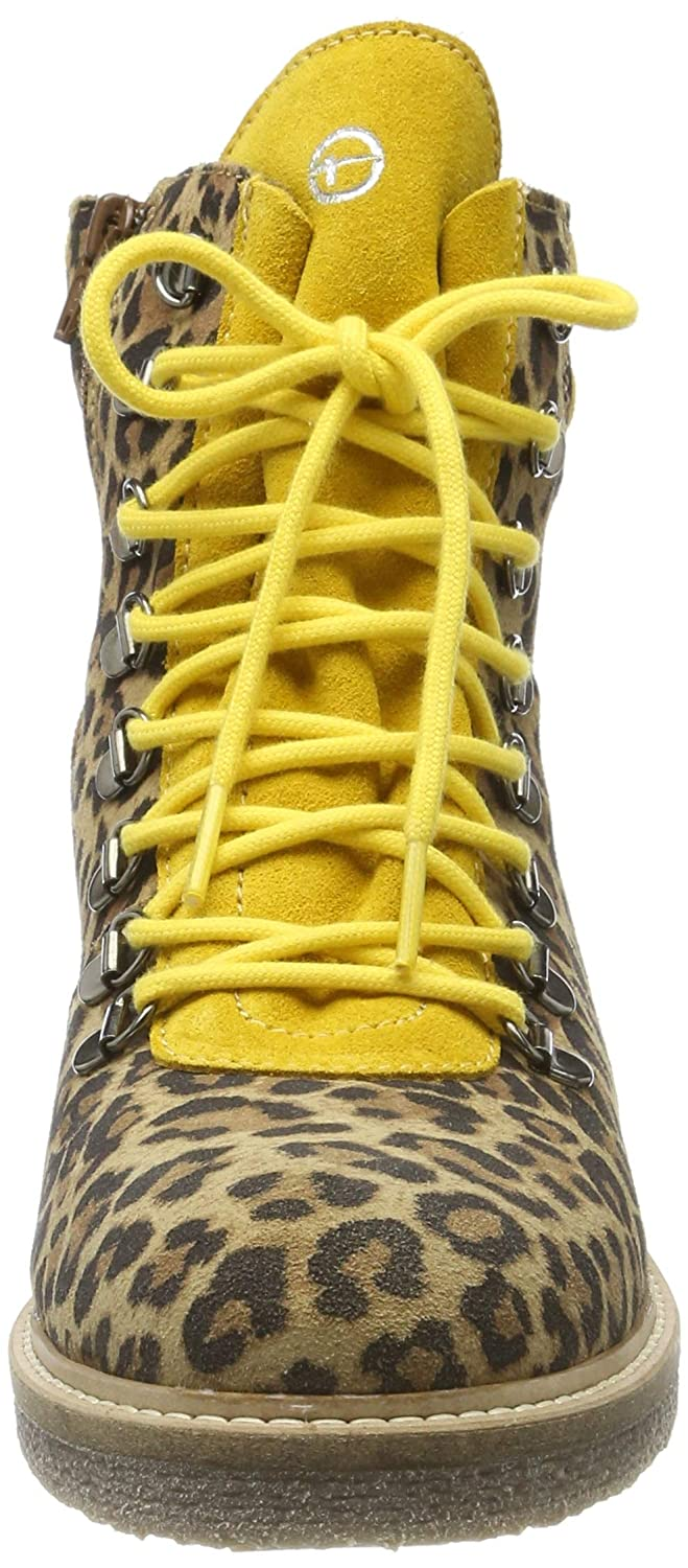 Tamaris Damen 1 1 25803 33 389 Stiefeletten, Leo Yellow