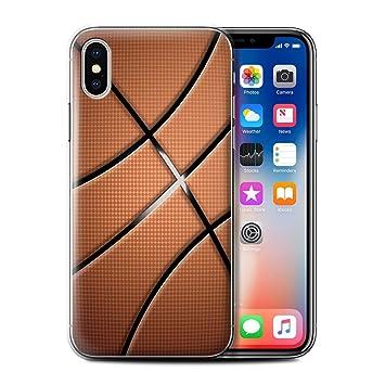 eSwish Carcasa/Funda Dura para el Apple iPhone X/10 / Serie: Bolas ...