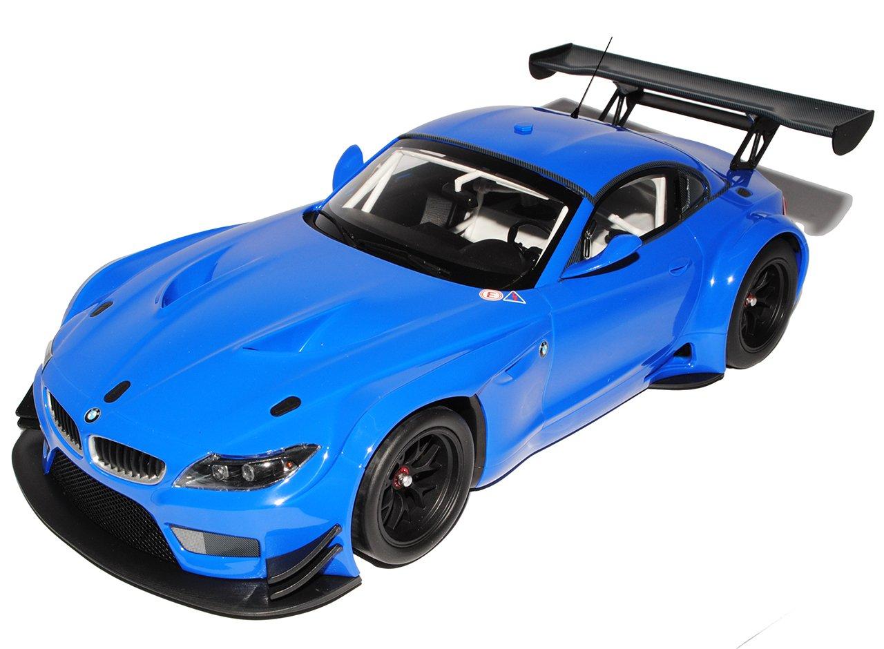 Minichamps BMW Z4 E89 GT3 Coupe Blau Ab 2009 1/18 Modell Auto