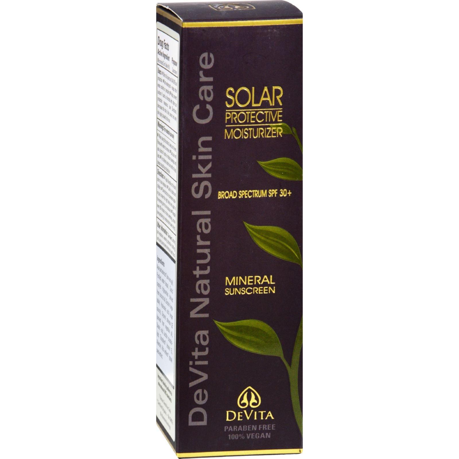 DeVita - Natural Skin Care Solar Protective Moisturizer 30 SPF - 2.5 oz. ( pack of 2)