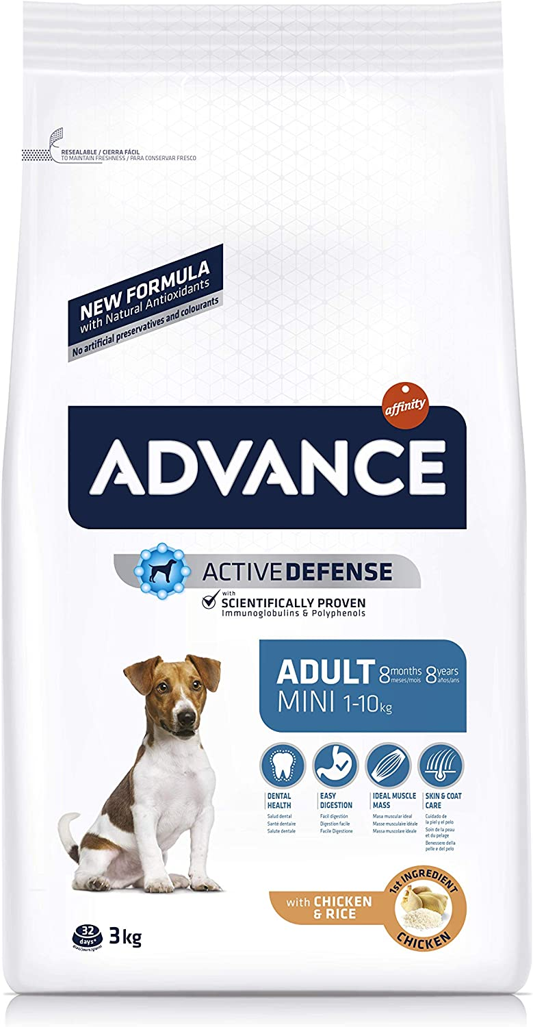Advance Pienso para Perros Mini Adult - 3000 gr