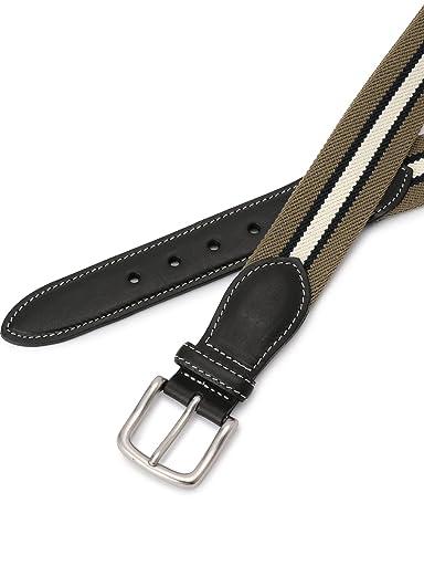 Stripe Surcingle Belt 118-13-1134: Olive